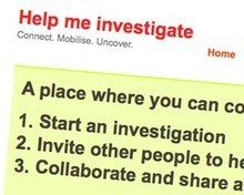 Host your own crowdsourced investigation with the Help Me Investigate plugin | Online Journalism Blog | Crowdsourced Journalism | Scoop.it