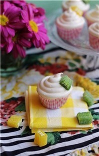 Receta de cupcakes de limonchello - Mujerhoy.com | Una nova dèria: cupcakes | Scoop.it