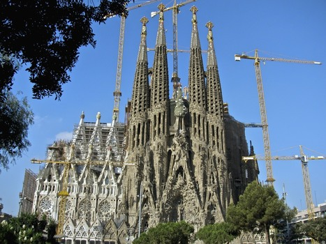 Antoni Gaudi Cathedral To Be Completed After 144 Years In 2026! 4 Fast Facts About La Sagrada Familia Structure | Architecture | Scoop.it