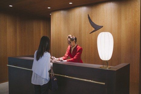 Open Now, Cathay Pacific's New Bangkok Lounge   Airline Passenger Experience   Scoop.it