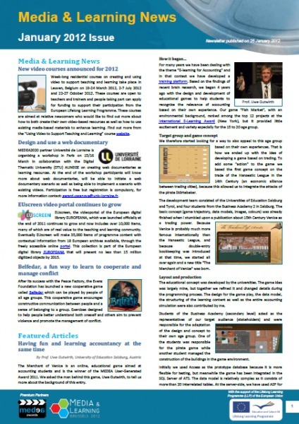 January 2012 | Media and Learning News | Media & Learning | Scoop.it