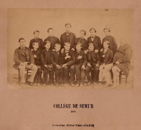 Une photographie des élèves du Collège de Semur-en-Auxois en 1874 - Histoire Généalogie - La vie et la mémoire de nos ancêtres | GenealoNet | Scoop.it