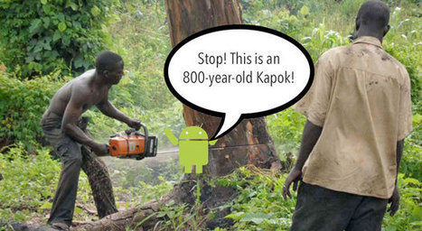 Discarded Android phones protect rainforests from loggers   Innovation through Technology   Scoop.it