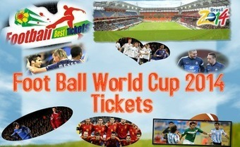 Buy online Football world cup 2014 tickets in  brazil | Football Best Tickets | Scoop.it