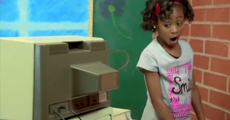These Kids Are Not Impressed by Ancient Apple Computers [VIDEO] | Communication design | Scoop.it