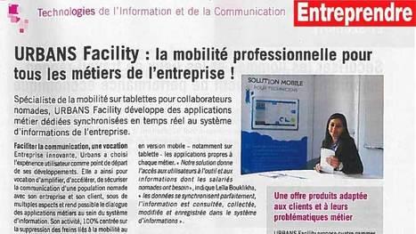 URBANS Facility dans le magazine ENTREPRENDRE | Urbans | Urbans Facility | Scoop.it