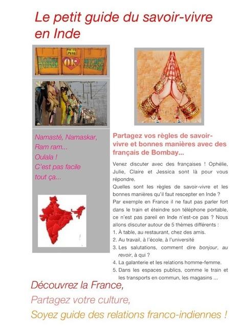 A1 >C2 Les bonnes manières en Inde et en France - Mumbai - Grenoble | Etandems, exemples et conseils | Scoop.it