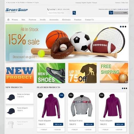 SportShop PrestaShop Theme | Prestashop Theme Download | Best Prestashop Themes | Scoop.it