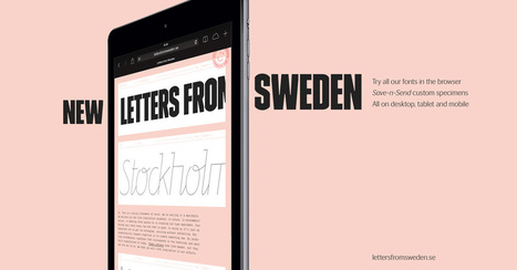 Letters from Sweden | What's new in Visual Communication? | Scoop.it