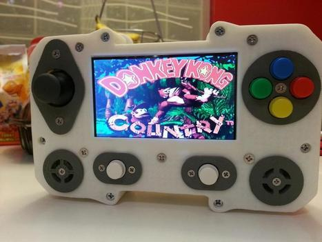 Portaberry Pi: A 3D-Printed Raspberry Pi Portable Gaming System   Raspberry Pi   Scoop.it