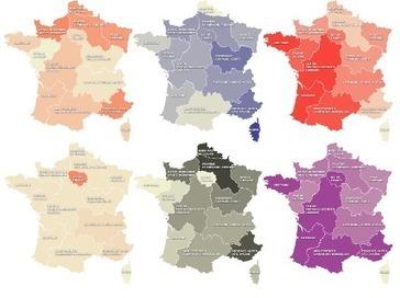 Régions: au lieu de vous énerver, penchez-vous sur ces 16cartes | Cartes et Insolites | Scoop.it