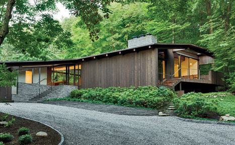 Bedford Residence | Joel Sanders Architect | New York | House of the Month | Architectural Record | Idées d'Architecture | Scoop.it