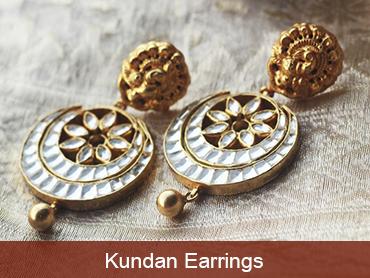 Shop Kundan Jewellery Online : Madhurya   Kurtis, Sarees, Jewellery   Scoop.it