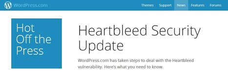 WordPress Heartbleed Security Update | WordPress and Annotum for Education, Science,Journal Publishing | Scoop.it