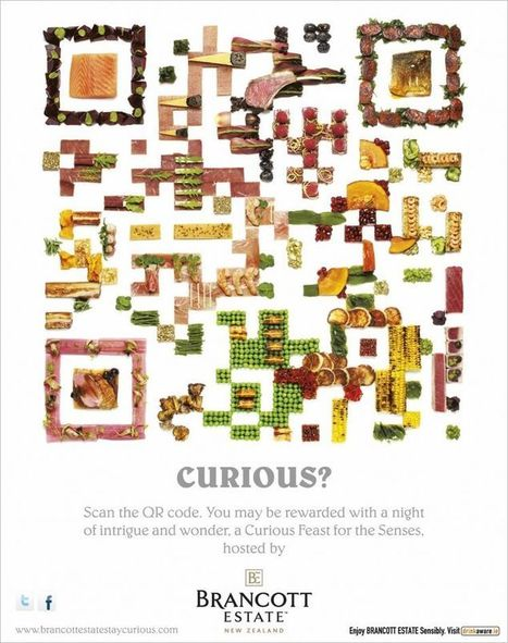 QR Code comestible | QRdressCode | Scoop.it