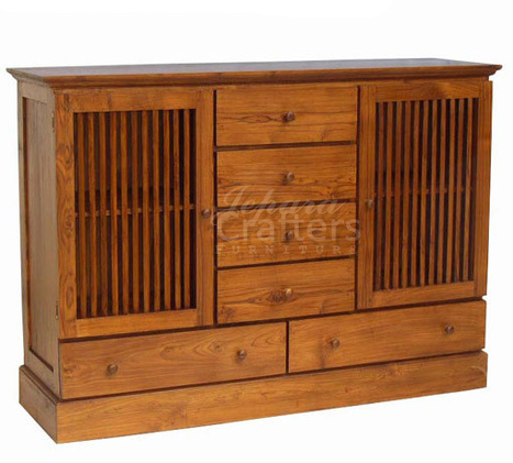 TEAK BUFFET & SIDEBOARD, TEAK BUFFET & SIDEBOARD direct from CV. JEPARA CRAFTER FURNITURE in Indonesia | Teak wood furniture | Scoop.it