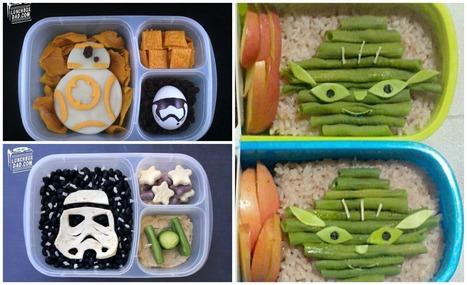 Top 10 des bento Star Wars, la Force dans la lunchbox | La cuisine japonaise | Scoop.it