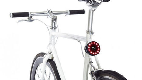 These Clever Bike Lights get you Seen, without Blinding Drivers | Technology in Business Today | Scoop.it