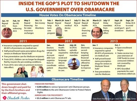 """House GOP plotted Obamacare shutdown since Obama's second term began"" (INFOGRAPHIC) 