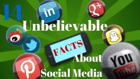 14 Unbelievable Facts About Social Media in 2015 | Modern Marketer | Scoop.it