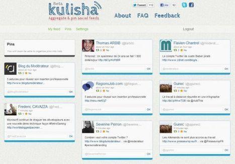 Kulisha, l'agrégateur de flux Twitter et Facebook - Blog du modérateur   694028   Scoop.it