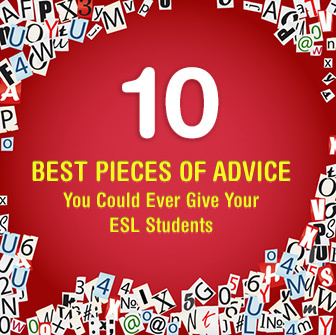 10 Best Pieces of Advice You Could Ever Give Your ESL Students | use of prepositions | Scoop.it