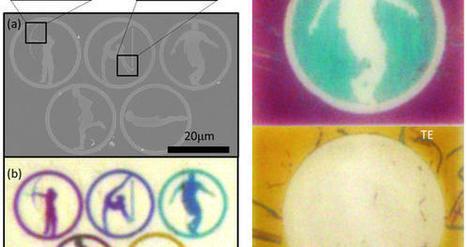 Quand les nanotechnologies améliorent la couleur des écrans... | e-paper - e-ink - le papier électronique | Scoop.it