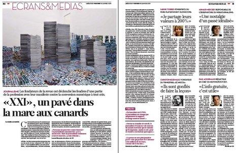«XXI», un pavé dans lamare aux canards | DocPresseESJ | Scoop.it