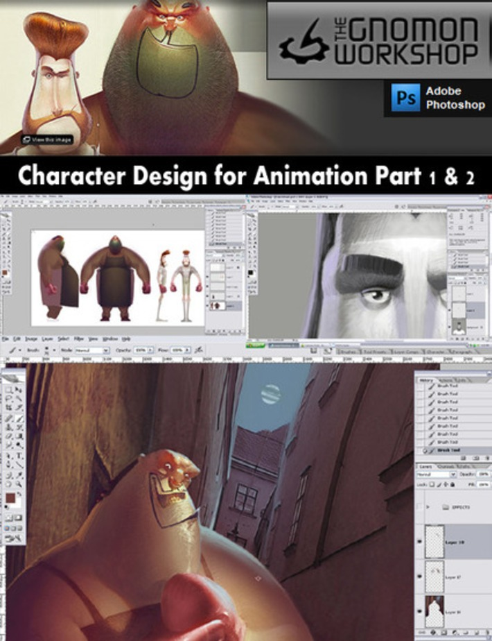» Gnomon Workshop Character Design for Animation Part 1-2 GRAPHICS RESOURCES | Machinimania | Scoop.it