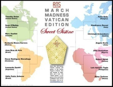 March Madness: Make your picks in the Vatican's Sweet Sistine brackets! - Religion News Service | KochAPGeography | Scoop.it