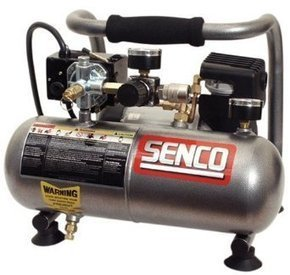 Senco PC1010 1-Horsepower Peak, 1/2 hp running 1-Gallon Compressor « Quiet Air Compressors For Sale | Crins1930 | Scoop.it