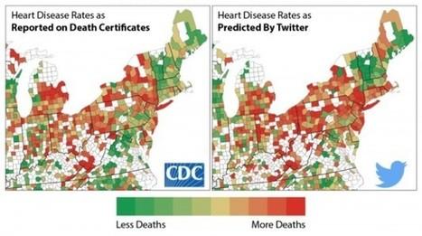 Unos científicos convierten Twitter en una herramienta para predecir enfermedades cardíacas | eSalud Social Media | Scoop.it