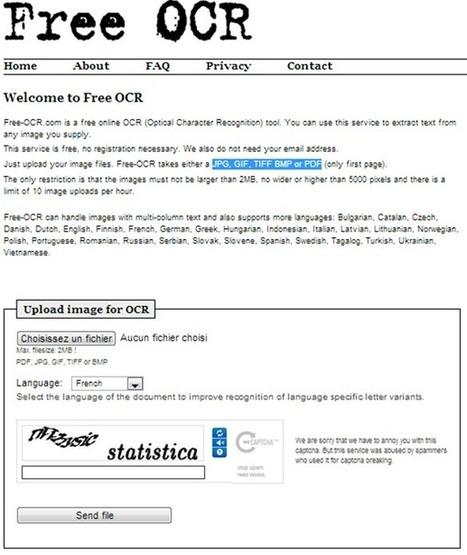 Convertir un document scanné en document texte éditable (OCR) | GTSUP - L'informatique facile | Scoop.it