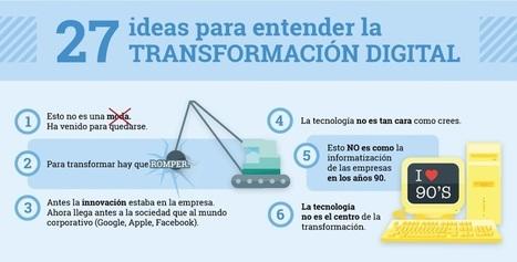 27 ideas para entender la transformación digital en sanidad | Noticias TIC SALUD | Scoop.it