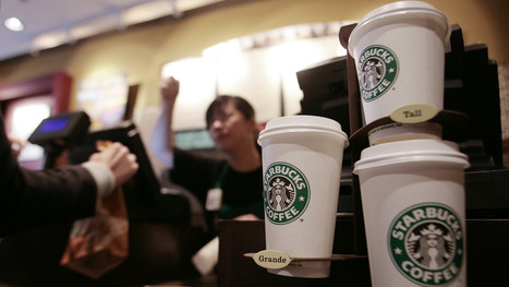 Starbucks has more customer money on cards than many banks have in deposits | Marketing - Nederland | Scoop.it