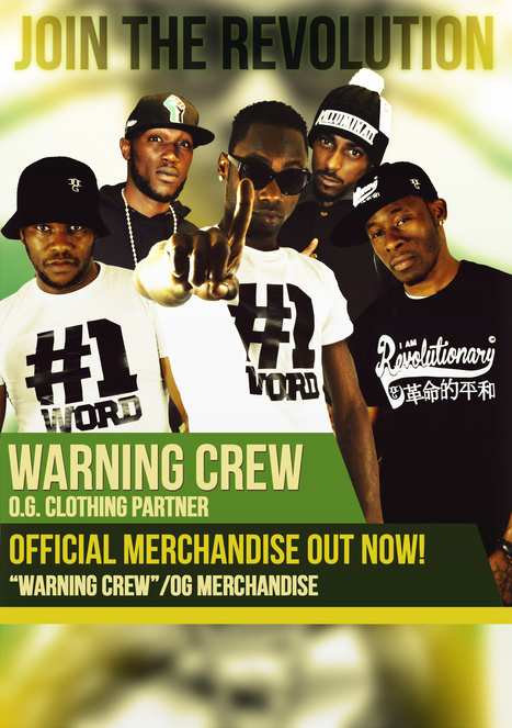 Stylo G & Warning Crew join the Revolution! | urban clothing | Scoop.it