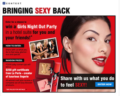 Bring Sexy BACK Contest From PhysiciansFormula.com