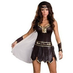 Xena Warrior Princess Costume | Homemade Halloween Costumes For College Students | Scoop.it