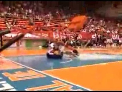 Backboard Support Collapses On Globetrotter, Damn Near Kills Him - Front Page Buzz | Global Problems | Scoop.it
