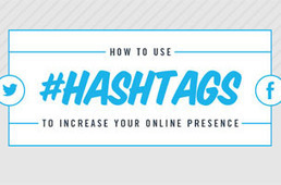 Use Hashtags to Boost Your Brand Presence Online [Infographic] - SocialTimes | Digital Marketing | Scoop.it