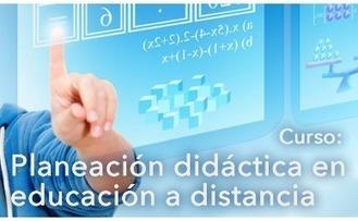 Curso: Planeación didáctica en educación a distancia | COBATAB PLANTEL 44 APOYO AL PERSONAL | Scoop.it