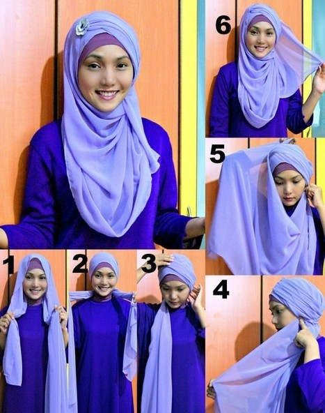 How To Wear Hijab In Different Styles | A Style Life | Beauty And Fashion | Scoop.it