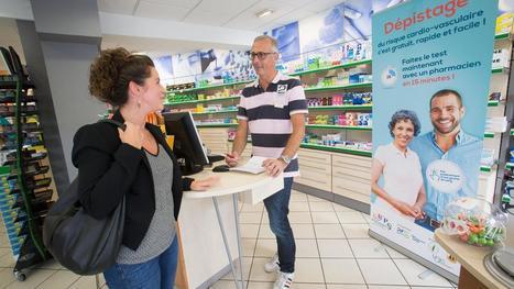 SANTÉ - Les pharmaciens veulent dépister vos problèmes de cœur | De la E santé...à la E pharmacie..y a qu'un pas (en fait plusieurs)... | Scoop.it