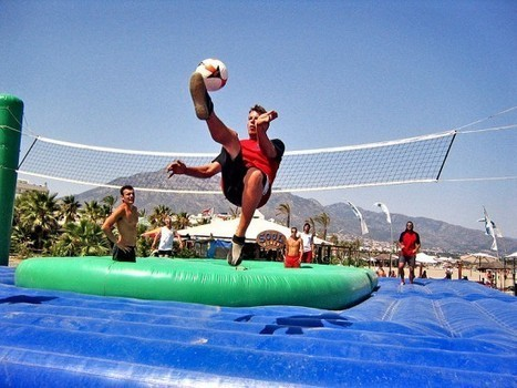 Bossaball – Volleyball Meets Football on a Trampoline | Strange days indeed... | Scoop.it