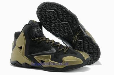 Nike Lebron 11 P.S. Elite Mens Basketball Shoe Gold Black Trainer.jpg (465x309 pixels)   fashionshoes   Scoop.it