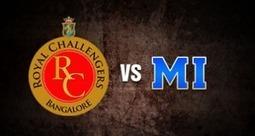 [RCB vs MI live streaming] Royal Challengers Bangalore vs Mumbai Indians – 19 April   Cricket Updates 365   Scoop.it