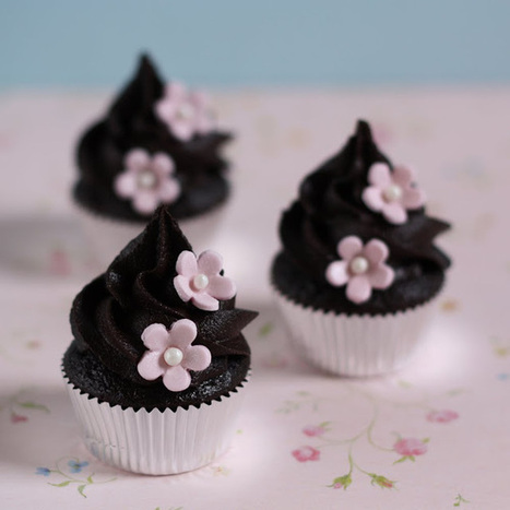 Chocolate Cupcakes with Chocolate Fudge Frosting | MakeYourRecipes | Recipes | Scoop.it