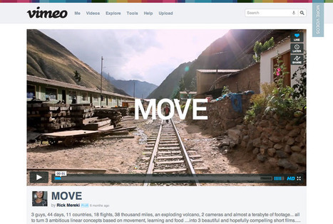 Vimeo, Your Videos Belong Here | Tech Tools for Training | Scoop.it