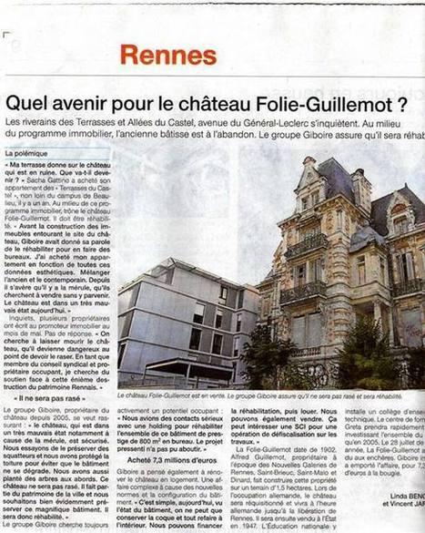 Timeline Photos | Facebook | Les Amis du Patrimoine Rennais | Scoop.it