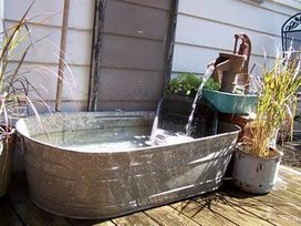 Upcycled pools & fountains | Upcycled Garden Style | Scoop.it
